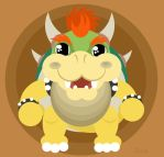 King Koopa by Child-Of-Neglect