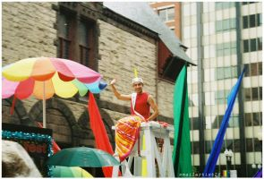 Boston Pride Life Guard by emailartist26