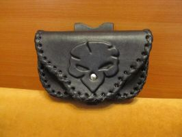 Leather pouch by EgorOrda