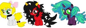 Mlp fim Adoptable -draw me a picture=filly by cottoncloudyfilly