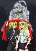 Rainy Day-FMA by kojika