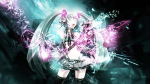 Miku Vocaloid FULL HD by Sl4ifer