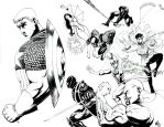 For Cap inks-commission by CE-Rap