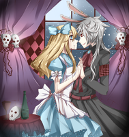 Never trust the white rabbit by kimbap-chan