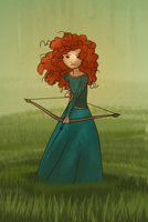 Merida Speed Drawing by meghanart