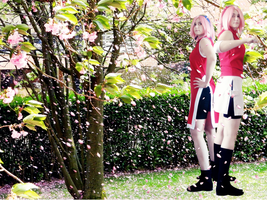 Haruno Sakura - Past and present by TemeSasu