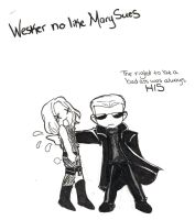 RE: Wesker is PISSED by TheMadWoman-Ellie