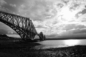 Forth Rail Bridge by fourteenthstar