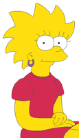 The Simpsons - Teen Lisa by KidBobobo