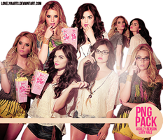 PNGS ASHLEY BENSON LUCY HALE by lovelyaarts