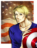 Steve Rogers.From Avengers :3 by GearKiari