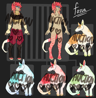 Fossa Character Auction [CLOSED] by Swag-Master-General