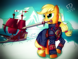 Apple Templar by FluffyDus