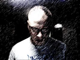 Self Portrait - Sin City Style by Enigmatic-Andy