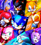 Sonic Group by Baitong9194