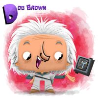 Doc Brown by xanderthurteen