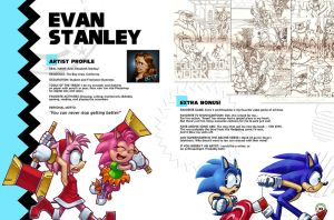 Sonic Art Collection (Pages 32-33) EVAN STANLEY by darkspeeds