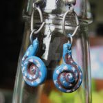 FOR SALE - ancient swirl earrings by LeiaLeaf