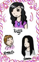 REQUEST: Kerri and Her Girls by Haayls