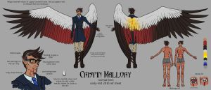 Crispin ref sheet (early 2016) by SilverPsychopomp