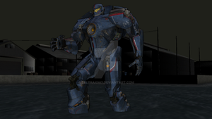 MMD Find - Pacific Rim's Gypsy Danger by Zeltrax987