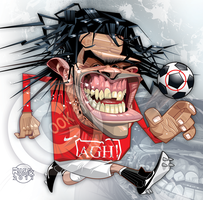 Carlos Tevez by RussCook