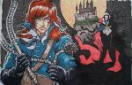 richter vs dracula colored by drios