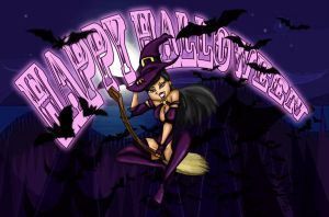 TDI Happy Halloween by drago-flame