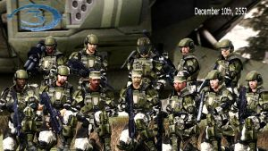 UNSC Marines by LordHayabusa357