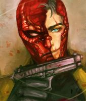 red hood2 by maxxxxine