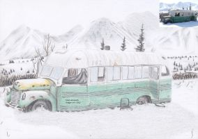 The magic bus in memory of Chris McCanddles by black-Khisanth