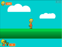 Lisa Simpson: World Saver (2nd Screenshot) by Sonickyle27
