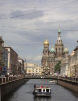 The Griboedov Canal by NorroenDyrd