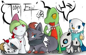 Team Elite by lagendarylugia