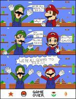 We're All Going To Die, Says Luigi. by RanaTatsumia