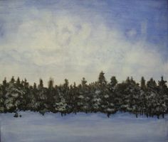 Winter Trees by kaylamckay