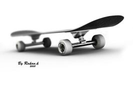 Skateboard by djreko
