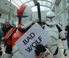 Bad Wolf - A New Hope...  I by angelofmusicuk