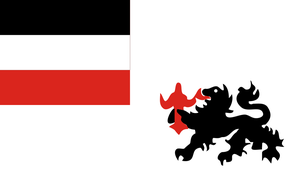 Flag of German New Guinea by LlwynogFox