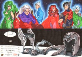 Magneto Family Portrait by CapnFlynn