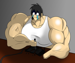 Muscle dream problem by GRYPHON-POWERFULL
