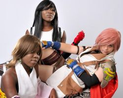 Final Fantasy Heroines by OsatoCosplay