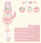 Neko reference sheet by Rockabell-Neko
