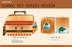 School Set Series Design by jmanggala