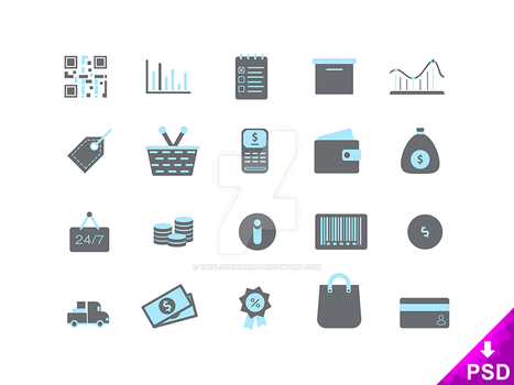 Shopping Icons by thislooksgreat