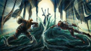 Bioshock 2: The Final Confrontation. by ex0tique