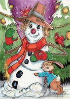 Favorite Things - Snowman by KileyBeecher
