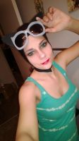 Work in Progress- Catwoman Make Up Test by Cortana2552
