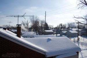 Snowy Rooftops by SamKent
