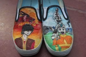 Avatar Shoes by Kaijere